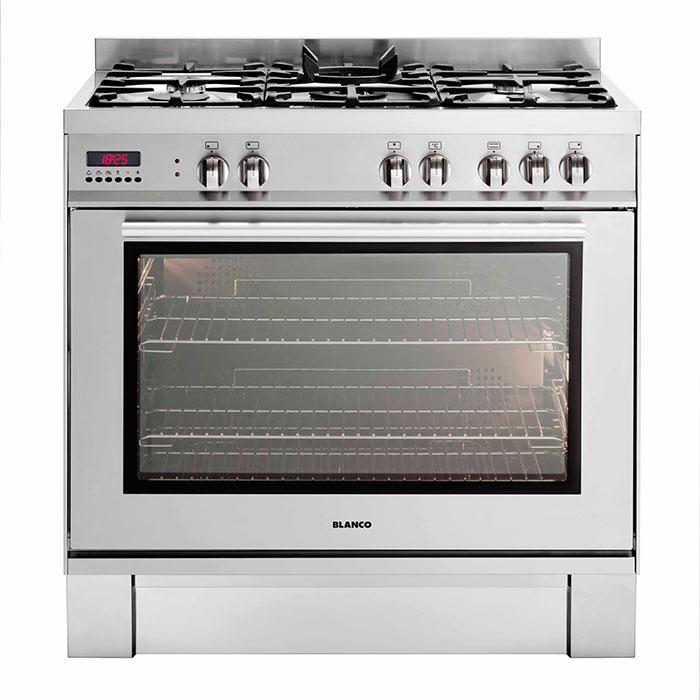 Blanco 900mm Freestanding Dual Oven 150l Srl Holdings
