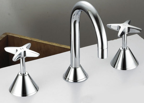 Aspen bath set chrome