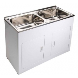 Modern National laundry tub double bowl 45L