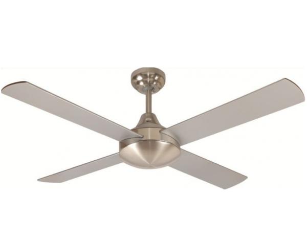 Glendale ceiling fan 2 1200 4BLD B/CHR