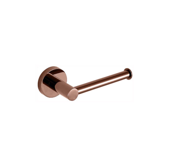 Ideal toilet roll holder rose gold